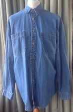 Levi Strauss & Co Red Tab Denim Shirt - Large