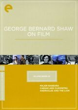 George Bernard Shaw on Film [Criterion Collection] [3 D (2010, REGION 1 DVD New)