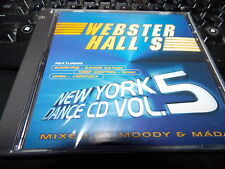Webster Hall's New York Dance CD, Vol. 5 by Various Artists(CD, Nov-2001,Webster