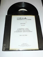 "C.I.A. - Overdrive - 2002 UK 4-track double 12"" DJ PROMO Vinyl Single"