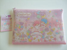 NEW!! Sanrio Little Twin Stars Kawaii Accessory Pouch Case Zipper Bag