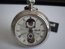 Orologio da Tasca Lowell PO7461 O12-146 movimento carica manuale color argento