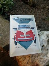 Official BMW Isetta 1955 Microcar Embossed Wall Sign  - Made in Germany