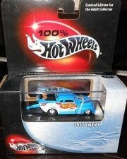 100% HOT  WHEELS  : 1937  CHEVY  Includes  Display Case -  scale 1:64   yr.2000