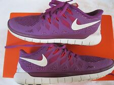 Super Nice Womens Nike Free 5.0 Purple, Fusia Athletic, Running Shoes, SZ 7.5