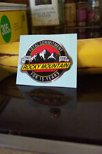 RARE PAIR OF 1996 VINTAGE ROCKY MOUNTAIN HEAD/SEAT TUBE DECALS 15th ANNI NOS