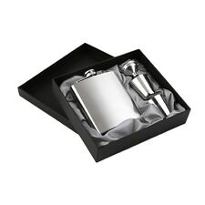 7oz Stainless Steel Pocket Hip Flask Funnel Cups Set Drink Bottle Gift New EA