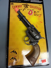 BIG TEX COWBOY TOY CAP GUN PISTOL WITH ORANGE TIP LENGTH 10 1/2""