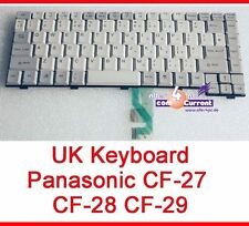 TASTATUR KEYBOARD ENGLISH UK LAYOUT PANASONIC TOUGHBOOK CF-27 CF-28 CF-29 CF29