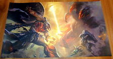 Poster A3 League Of Legends Patheon vs Red LOL