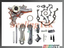 Fit 97-11 Ford 4.0L SOHC V6 Engine Timing Chain Kit w/ Water Pump rear main seal