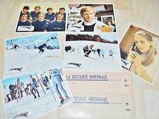 LA DESCENTE INFERNALE ! r redford jeu 12 photos cinema lobby card 1969 ski
