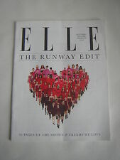 Elle UK Fashion Magazine The Runway Edit Autumn/Winter 2010, 50 pages of shows