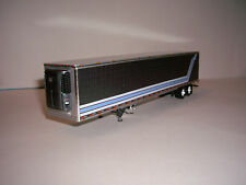 DCP 1/64 GRAY WITH BLUE, RED&WHITE STRIPED 53' UTILITY 3000-R REFRIDGERATED VAN