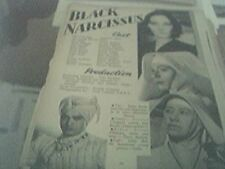 newspaper article 1947 - when you come home production 2 page