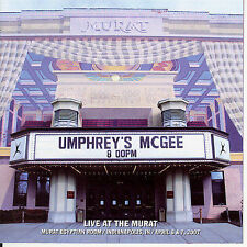 """UMPHREY'S MCGEE """"LIVE AT THE MURAT"""" BRAND NEW UNSEALED PROMO 2 CD SET BEST PRICE"""