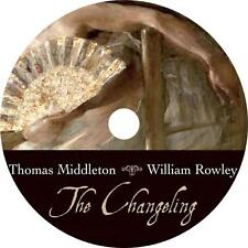 The Changeling, Thomas Middleton Tragic Adultery Comedy Audiobook on 2 Audio CDs