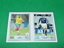 N°127 COUBADJA 47 CRESPO ARGENTINA PANINI FOOTBALL GERMANY 2006 MINI-STICKERS