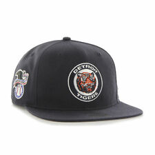 Detroit Tigers - '47 Brand MLB Snapback Hat Cap -Flat Brim Sure Shot Cooperstown