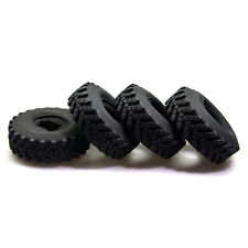 "SCX10 4pcs 2.2"" 1/10 Crawler 40mm ID Tyres for Wraith cc01/F350, RC4WD AXIAL"