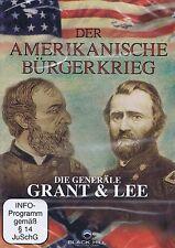 DVD NEU/OVP - Der Amerikanische Bürgerkrieg - Die Generäle Grant & Lee