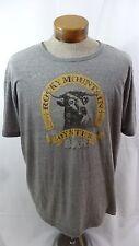Men's Lucky Brand Grey Rocky Mountain Oyster Bar T-shirt - Size XL