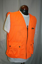 Fieldline Ventilated Blaze Orange Safety Cover Vest Medium Large Hunting 2B8