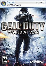 Call OF DUTY WORLD AT WAR PC NUOVO SIGILLATO CONSEGNA VELOCE
