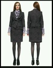 Bnwt vivienne westwood purple bouclè jacquard design skirt suit.£840.uk 10/42
