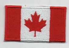 Canada Flag High Quality Embroided Iron On / Sew On Patch Badge (l'Unifolié )