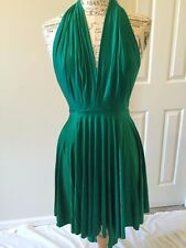 Butter by Nadia Emerald Green One Size Luxury Stretch Convertible Dress