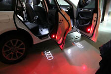 2xFor Audi A4 A6/8 Q7 LED Logo 3D Shadow Light Projector Car Door Courtesy Laser