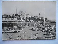 """CPSM """"Saint Raphael - La plage et l'hôtel des Algues"""""""