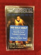 "NEW SEALED ""Timbaland"" Tim's Bio:     Cassette Tape Rare"