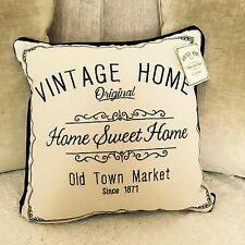 New Vintage Shabby Chic Home Cushion 30cm