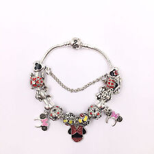 Disney Mickey and Minnie Mouse Pandora Charm Bracelet & Charms