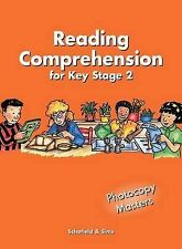 Reading Comprehension: Key Stage 2 (Years 3 - 6) [Photocopiable Resource Booklet
