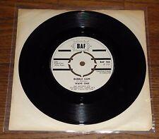 """WAVE ONE ~ BUBBLE GUM b/w HEART ACHE ~ UK BAF 7"""" 1972 REGGAE SKA SKINHEAD"""