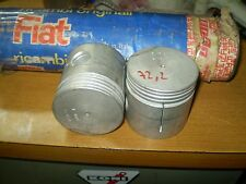 KIT PISTONI 4 PZ NUDI  ORIGINALI FIAT 1100/D DIAMETRO 72 MM + 2/10