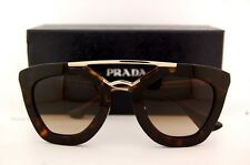 Brand New Prada Sunglasses 09Q 09QS 2AU 6S1 Havana for Women