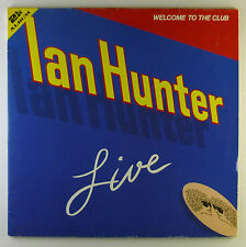 "2 x 12"" LP - Ian Hunter - Welcome To The Club - Live - A2778 - washed & cleaned"