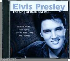 Elvis Presley - The King of Rock and Roll (2007) - New 12 Song UK CD!