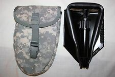 US MILITARY Issue ENTRENCHING  E Tool SHOVEL with Cover AMES  05