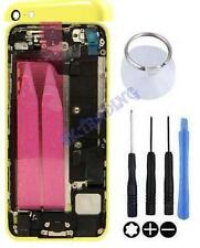 COQUE CHASSIS ARRIERE ASSEMBLEE COMPLET POUR IPHONE 5C JAUNE ORIGINAL OUTILS NEU