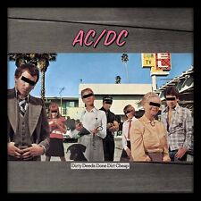 AC/DC - Dirty Deeds Done Dirt Cheap - Framed Album Cover Print ACPPR48068
