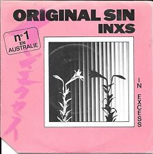 "45 TOURS / 7"" SINGLE--INXS--THE ORIGINAL SIN / TO LOOK AT YOU--1983"