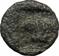 RHODES Island Off CARIA 394BC Nymph Rhodos ROSE Ancient Greek Coin i49616