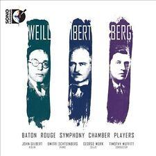 Weill Ibert Berg  2 CD  Blu-Ray Audio Dorian Sono Luminus NEW FREE SHIP 10.99