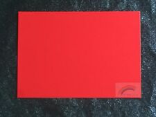 50 SHEETS - RED MIRROR A4 CARD 250 GSM  ** SLIGHT SECONDS **