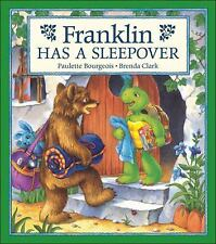 Franklin Has a Sleepover Bourgeois, Paulette Paperback